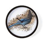 Steller's Jay Wall Clock