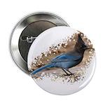 "Steller's Jay 2.25"" Button (100 pack)"
