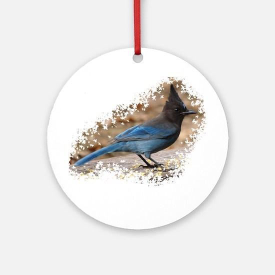 Steller's Jay Ornament (Round)