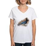 Steller's Jay Women's V-Neck T-Shirt