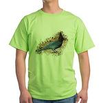 Steller's Jay Green T-Shirt