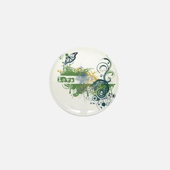 Green Love Chakra! Mini Button