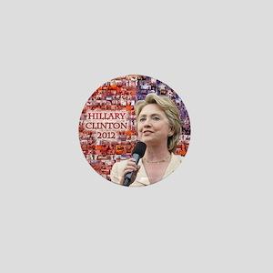 Hillary Clinton 2012 Mini Button
