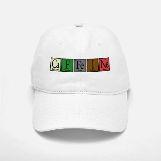 Caffeine Compound Baseball Baseball Cap