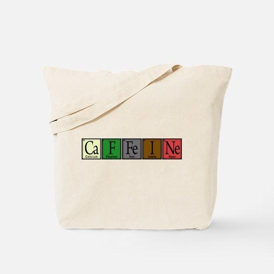 Caffeine Compound Tote Bag