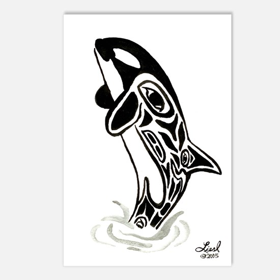Orca Spirit Postcards (Package of 8)