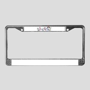 PLURPY License Plate Frame