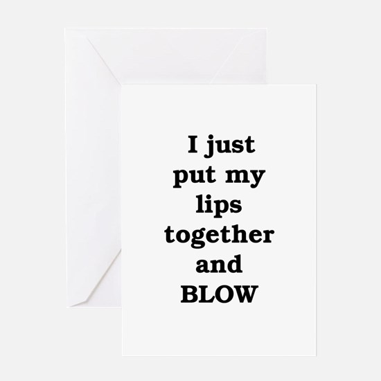Every brass player does it Greeting Card