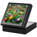Pepper Christmas Lights Keepsake Box