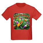 Pepper Christmas Lights Kids Dark T-Shirt
