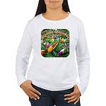Pepper Christmas Lights Women's Long Sleeve T-Shir