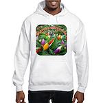 Pepper Christmas Lights Hooded Sweatshirt