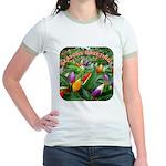 Pepper Christmas Lights Jr. Ringer T-Shirt
