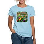 Pepper Christmas Lights Women's Light T-Shirt