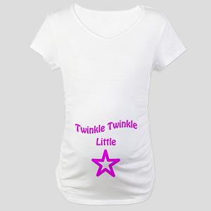 Twinkle Twinkle Little Star (Girl) Maternity Tee