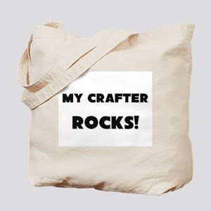 MY Crafter ROCKS! Tote Bag