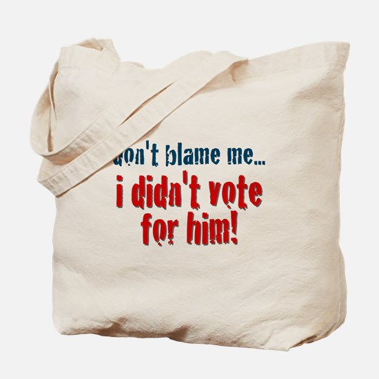 Don't Blame Me #2 Tote Bag