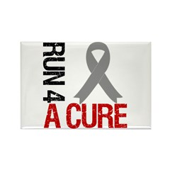 Run4ACure Brain Cancer Rectangle Magnet (10 pack)