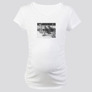 One for the money Maternity T-Shirt