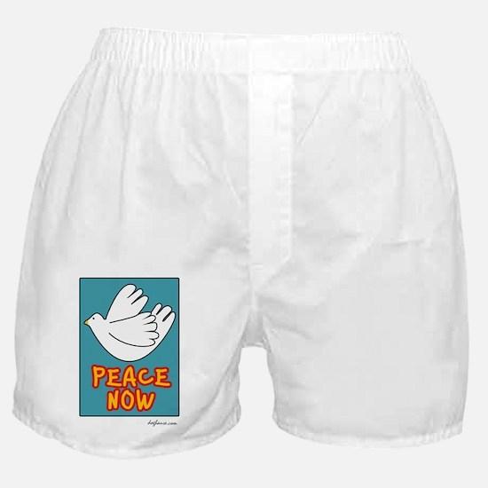 Peace Now Dove Boxer Shorts
