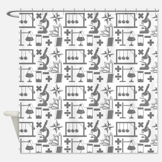 Cute Biology Shower Curtain