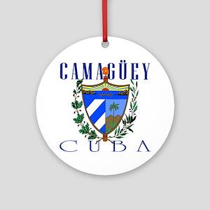 Camaguey Ornament (Round)
