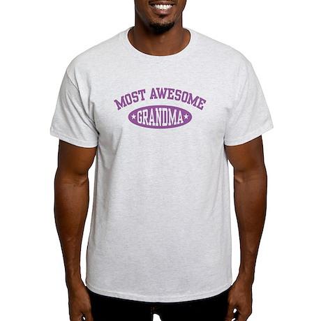 Most Awesome Grandma Light T-Shirt