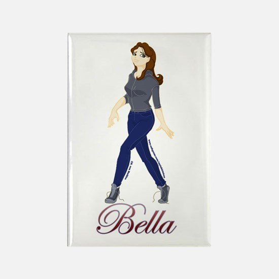 Cute Twilight Bella Rectangle Magnet
