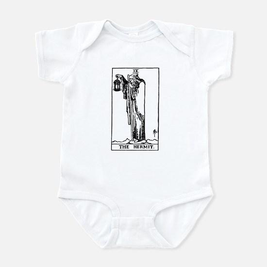 The Hermit Tarot Card Infant Bodysuit