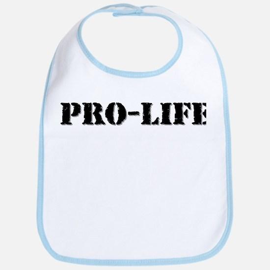 Pro-life Bib