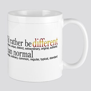 Different - - - Normal Mug