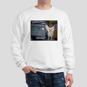 Foxies Make the Bestest Brows Sweatshirt