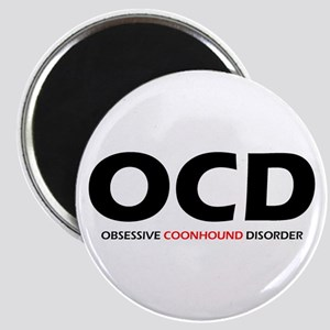 Obsessive Coonhound Disorder Magnet
