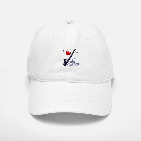I Love My BASS CLARINET Baseball Baseball Cap