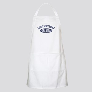 Most Awesome Grandpa BBQ Apron