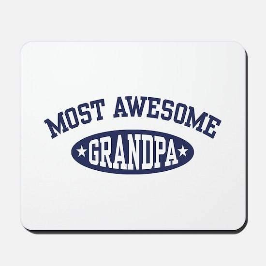 Most Awesome Grandpa Mousepad