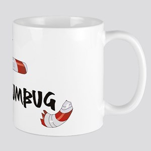 Bah Humbug Broken Candy Cane Mug
