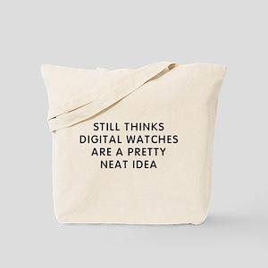Still Digital Tote Bag