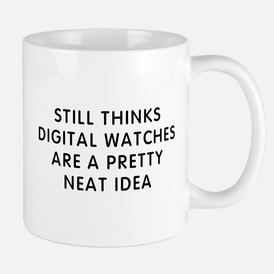 Still Digital Small Mug