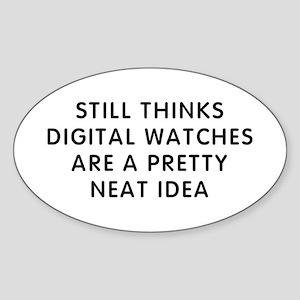 Still Digital Sticker (Oval)