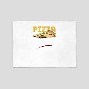 Pizza Slut 5'x7'Area Rug