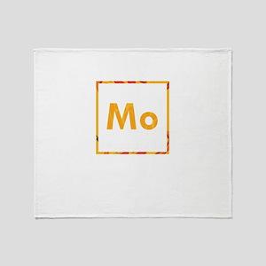 Mo Mozzarella Pizza Throw Blanket