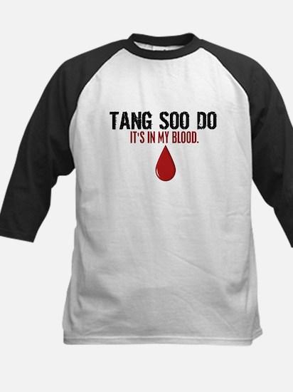 In My Blood (Tang Soo Do) Kids Baseball Jersey