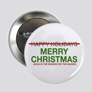 "2.25"" Button Jesus Reason for the Season"