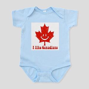 I Like Canadians Infant Creeper