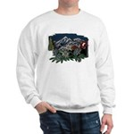 Alpine Chalet Ash Grey Sweatshirt
