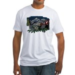Alpine Chalet Fitted T-Shirt