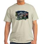 Alpine Chalet Natural Color T-Shirt