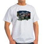 Alpine Chalet Ash Grey T-Shirt