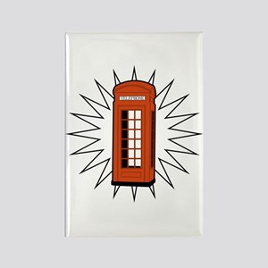 Telephone Box Rectangle Magnet